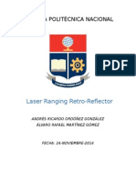 Laser rangin retro-reflector
