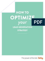 How to Optimize Your Lead Generation Strategy