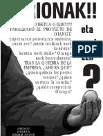Oianguko Proiektua Geldi!!!!!!! Paralizado El Proyecto De