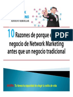 10 razones para elegir network marketing