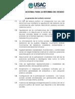 Plataforma Nacional Para La Reforma Del Estado