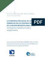 La  construccion social de las demencias