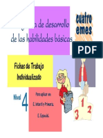 Programa de Habilidades Básicas Nivel 4