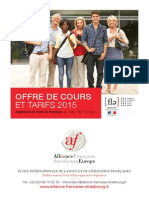 Alianza Francesa en Francia