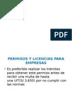 Permisos y Licencias para Empresas