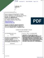 1st Technology LLC v. Rational Enterprises Ltda. et al - Document No. 73