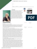O TRABALHO PENSADO – Entrevista Com Pierre Trinquet _ Sinpro