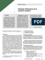 Patologia Inflamatoria Columna