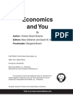 economics and you--supply and demand