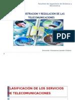 Administracion y Regulacion Telecomunicaciones-2015-Clasificación de Servicios (1)