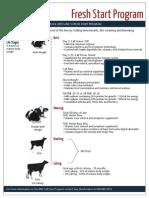 calf care program flyer 2014