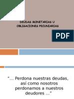 DEUDAS MONETARIAS