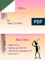Main Idea