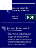Consejo Local de Fomento Artesanal.ppt