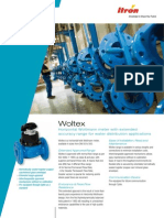 Catalog for Woltex Flanged 50mm to 500mm Dia