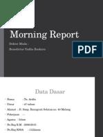 Rehab Medik Morning Report Stroke