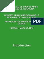2 Igpuba - Regimen Legal de Gas Natural- Fac de Ingenieria Mayo de 2015