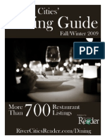 2009 Fall Dining Guide