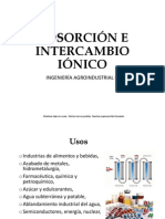 Adsorcion e Intercambio Ionico-final