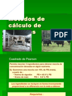 M E9todos de c E1lculo de Raciones