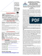 Boletim - 02 de Agosto de 2015