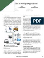 4 Microgrid Applications