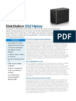 Synology DS214play Data Sheet Ptb