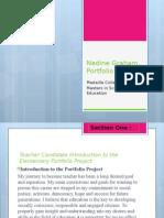 nadine graham portfolio project