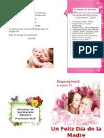 Tarjeta Día de La Madre 2015