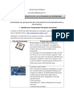 2. Identificación Componentes Principales Del Computador