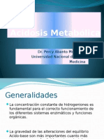 Clase Acidosis Metabolica