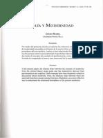 Retamal Melancolía y Modernidad 2005