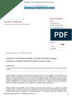Estudios filológicos - Anestética de Metales Pesados, de Yanko González Cangas