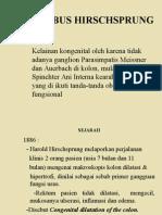Morbus Hirschsprung