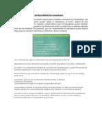 Factores Que Afectan La Biodisponibilidad Del Contaminante