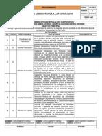 Revisión Administ Facturación