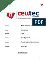 07. Investigacion1 ''Francisco Cerrato 31021394'' ''Ofimatica II''