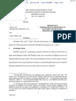 Lulu Enterprises, Inc. v. N-F Newsite, LLC et al - Document No. 85