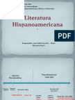 Línea de Tiempo- Narrativa Hispanoamericana