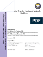 Knowledge Transfer Needs and Methods Final Report