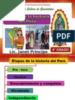 Etapas de La Historia Del Perú