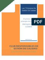 El Primer Gran Principio de Gestión ENFOQUE en EL CLIENTE PDF