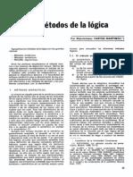 Maximiliano Fartos-los Métodos de La Lógica