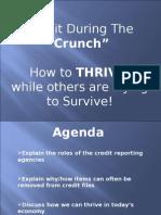 Free Credit Seminar Heaven View Notes