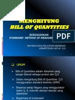 3. Bill of Quantities