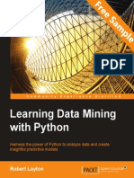 Learning Data Mining with Python - Sample Chapter
