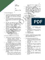 Securities Regulation Code Notes