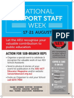 National Support Staff Week 2015
