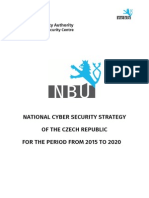 National Cyber Security Strategy - Czech Republic