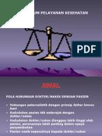 Aspek Hukum Pelayanan Kesehatan